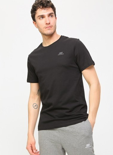 Skechers Tişört Siyah